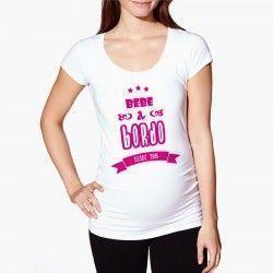 """Camiseta """"Bebé a bordo"""""""