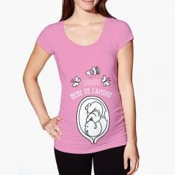 """Camiseta """"Bebé en camino"""""""