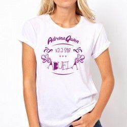 """Camiseta """"Adivina quién va a ser Abuela"""""""