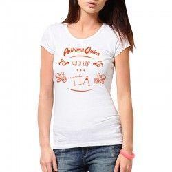 """Camiseta """"Adivina quién va a ser Tía"""""""