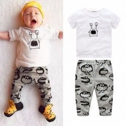 Pijama infantil mono de monstruito