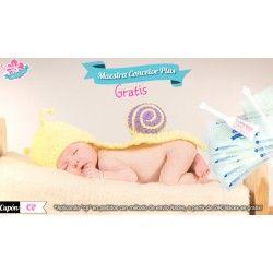 Aplicador Conceive Plus de Regalo con 4 Test de Embarazo + Portatest
