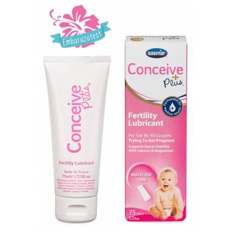 Lubricante Embarazo Conceive Plus 75 ml