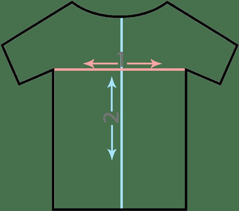 Cómo elegir la talla de la camiseta en Embarazatest.es