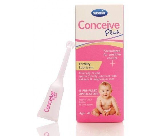 Lubricante Embarazo Conceive Plus 8 Monodosis